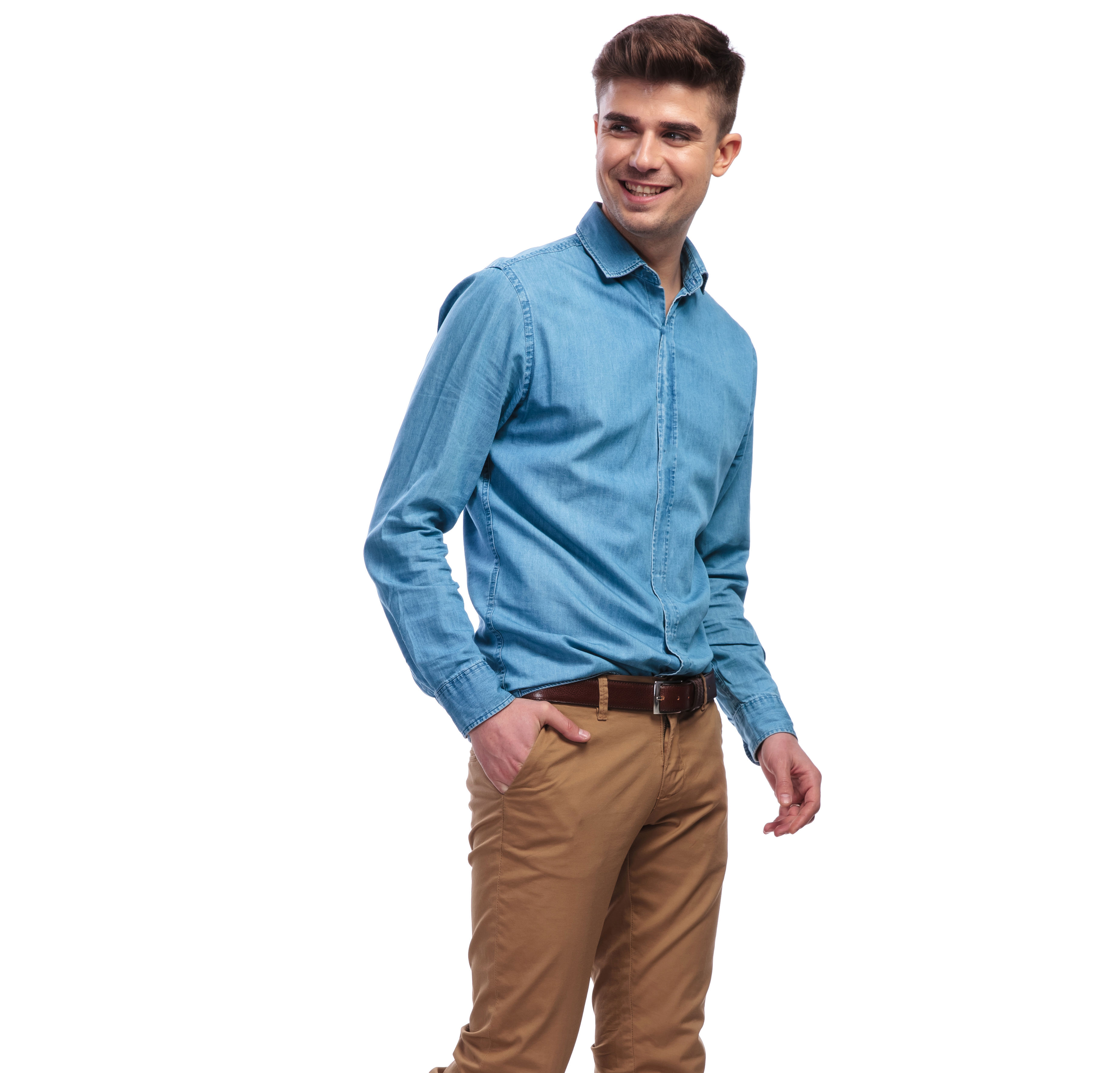 Moda Pantalones De Colores Para Hombres