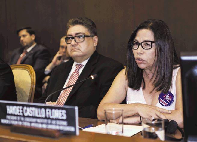 """Activista Haydee Castillo: """"Con nuestras voces en Nicaragua enfrentamos una  dictadura militar y criminal"""""""