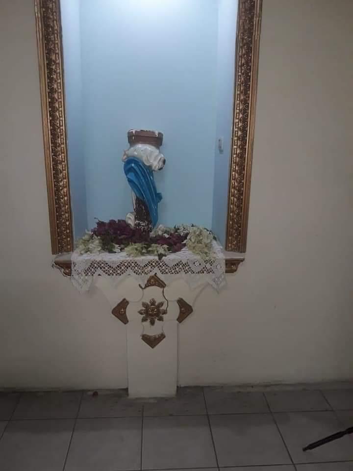 parroquia, vandalismo, Iglesia católica, Nicaragua