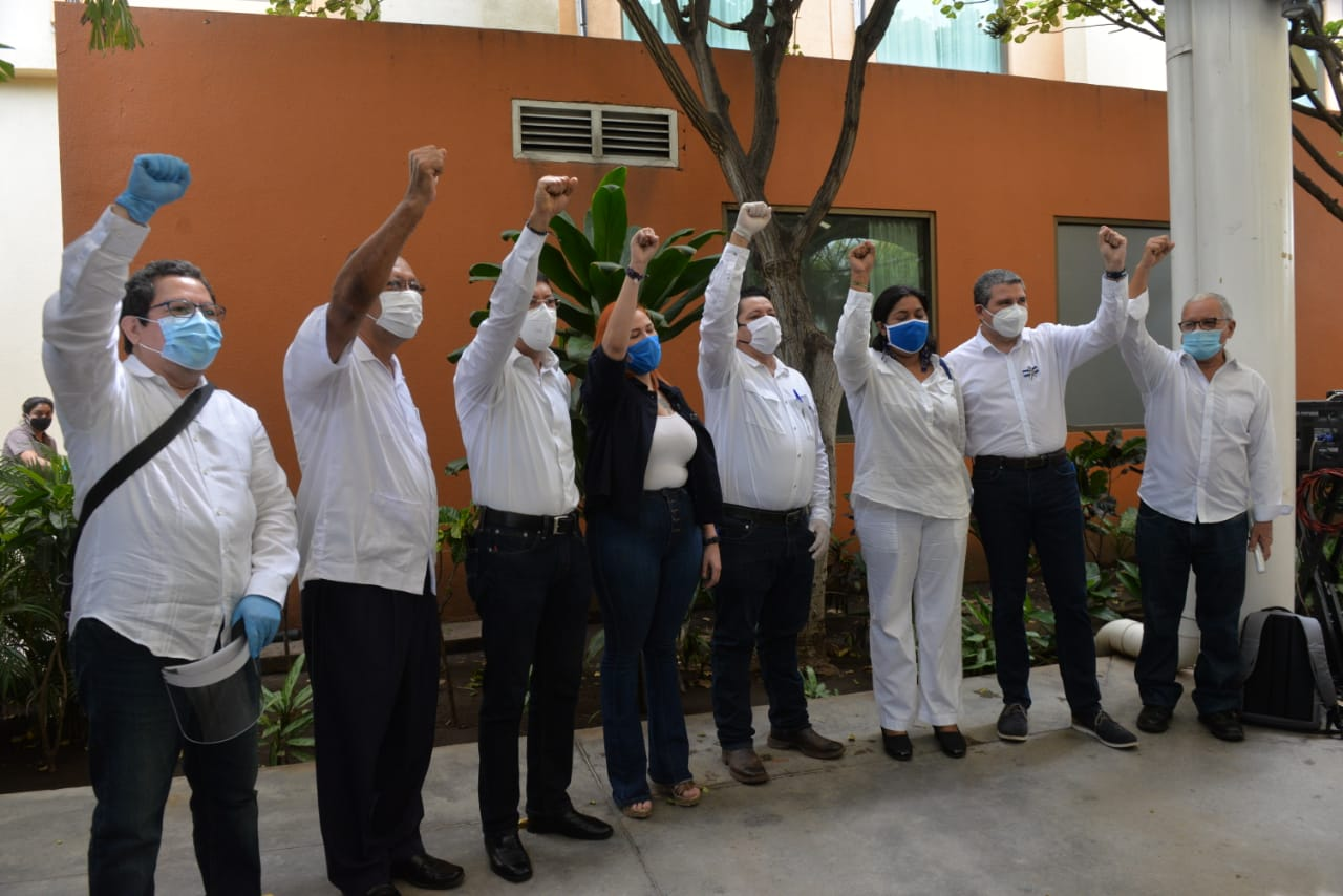 Coalición Nacional, UNAB, Alianza Cívica, Comité Nacional, PLC, oposición, Nicaragua, represión