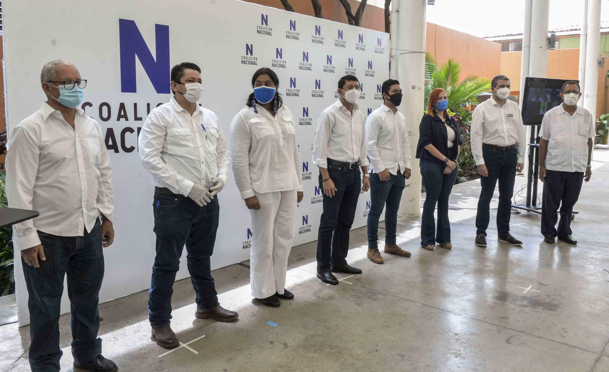 Ciudadanos por la Libertad, CxL, Coalición Nacional, oposición, Nicaragua