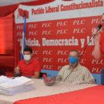 Trabajadores del PLC le reclaman a Arnoldo Alemán por el bloqueo de sus salarios