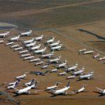 Coronavirus y viajes: los «cementerios» a los que van a parar los aviones sin usar por la pandemia de coronavirus
