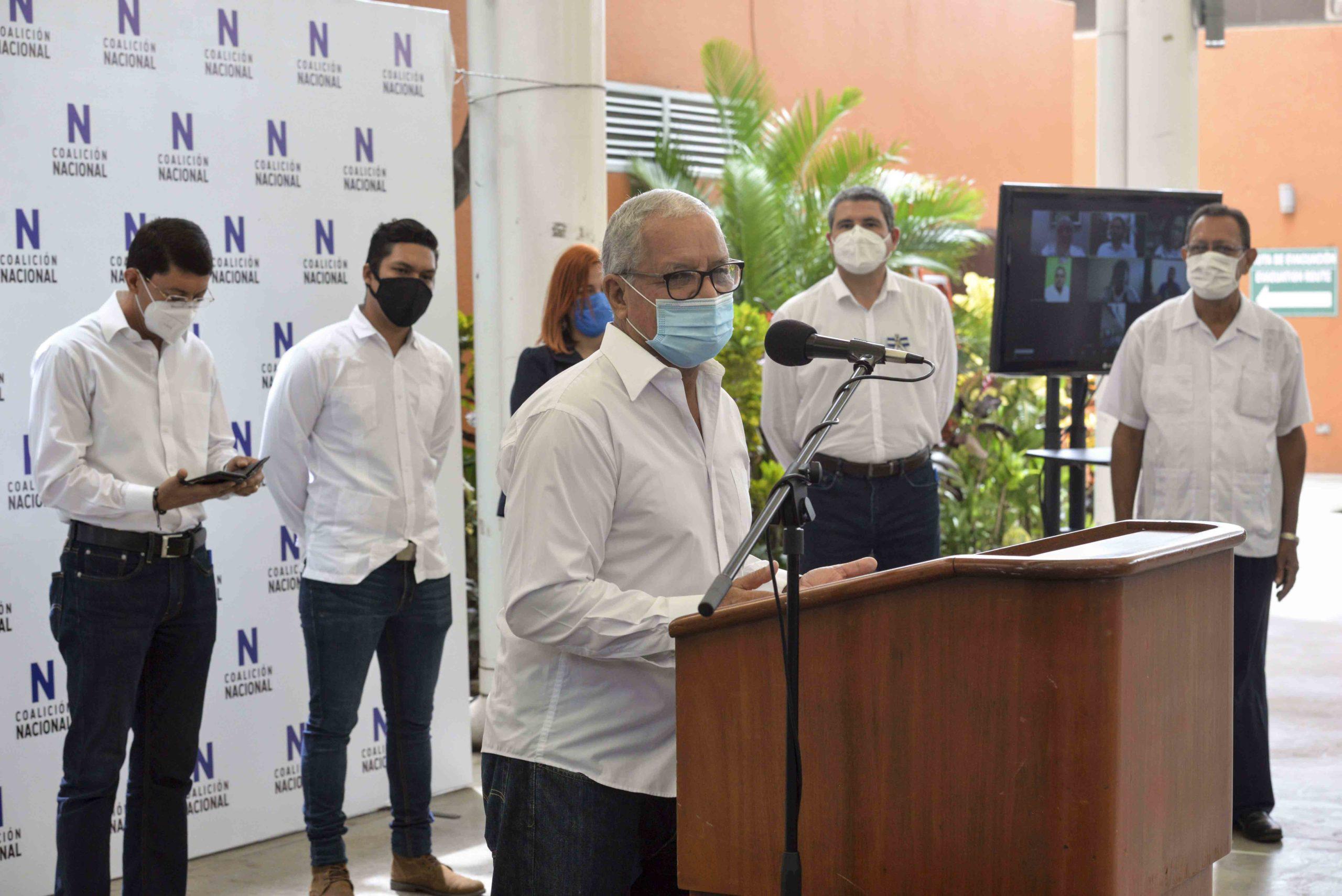 Medardo Mairena, Movimiento Campesino, Coalición Nacional, Alianza Cívica, UNAB, dictadura, Nicaragua