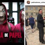 Atracos con máscaras de Dalí llegan a su fin. La Casa de Papel corre escenas de su quinta y última serie en Copenhague