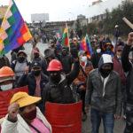 Bolivia en décimo día de cortes de rutas que hacen faltar alimentos y medicinas