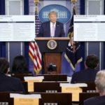 Trump sobre la pandemia: «Desaparecerá, como las cosas desaparecen»