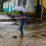 Abundantes lluvias en toda Nicaragua, principalmente en Rivas y la Costa Caribe