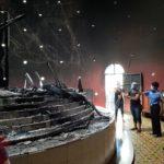 Policía concluye que incendio en la Catedral de Managua fue causado por «acumulación de vapores»