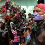 Promesantes peregrinan hacia Las Sierritas, pese a recomendaciones en medio de pandemia