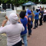 Las imágenes del asedio policial durante el piquete de protesta de familiares de presos políticos