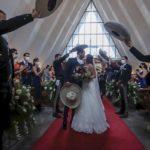 Así fue la boda de la hija del cantante Alejandro Fernández en medio de la pandemia