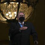 Presidente guatemalteco diagnosticado con coronavirus