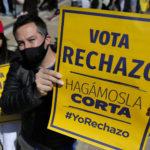 «No seremos Cuba ni tampoco Venezuela». Manifestación en Santiago contra una nueva Constitución en Chile