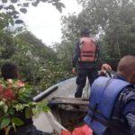 Los cinco marinos que salieron en un operativo de rescate siguen desaparecidos. La búsqueda sigue