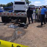 Exboxeador profesional muere al ser arrollado por un camión en Managua