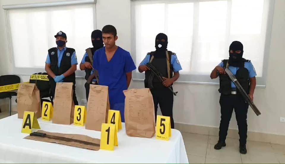 Policía presenta al sospechoso de matar a dos niñas en Mulukukú, Caribe  Norte