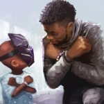 Disney inmortaliza a Chadwick Boseman con el emotivo mural de Nikkolas Smith