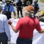 Excesivo despliegue policial ante protesta pacífica de tres autoconvocados