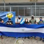 Periodistas exiliados en Costa Rica protestan contra Ley Mordaza del régimen