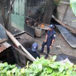 Incendio en barrio La Fuente deja al descubierto que niños y ancianas vivían en abandono