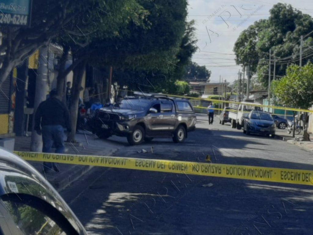 El empresario fue baleado la mañana del 11 de enero de 2021. LA PRENSA/ARCHIVO