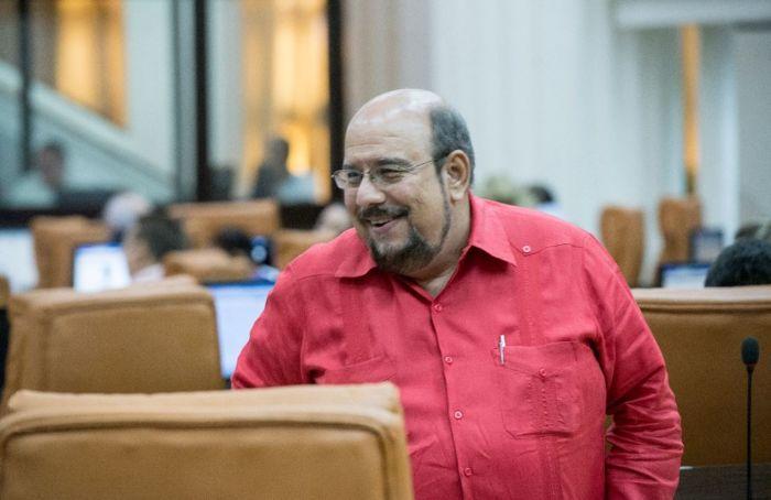 Diputado y jefe de bancada del FSLN, Edwin Castro. LA PRENSA / ARCHIVO