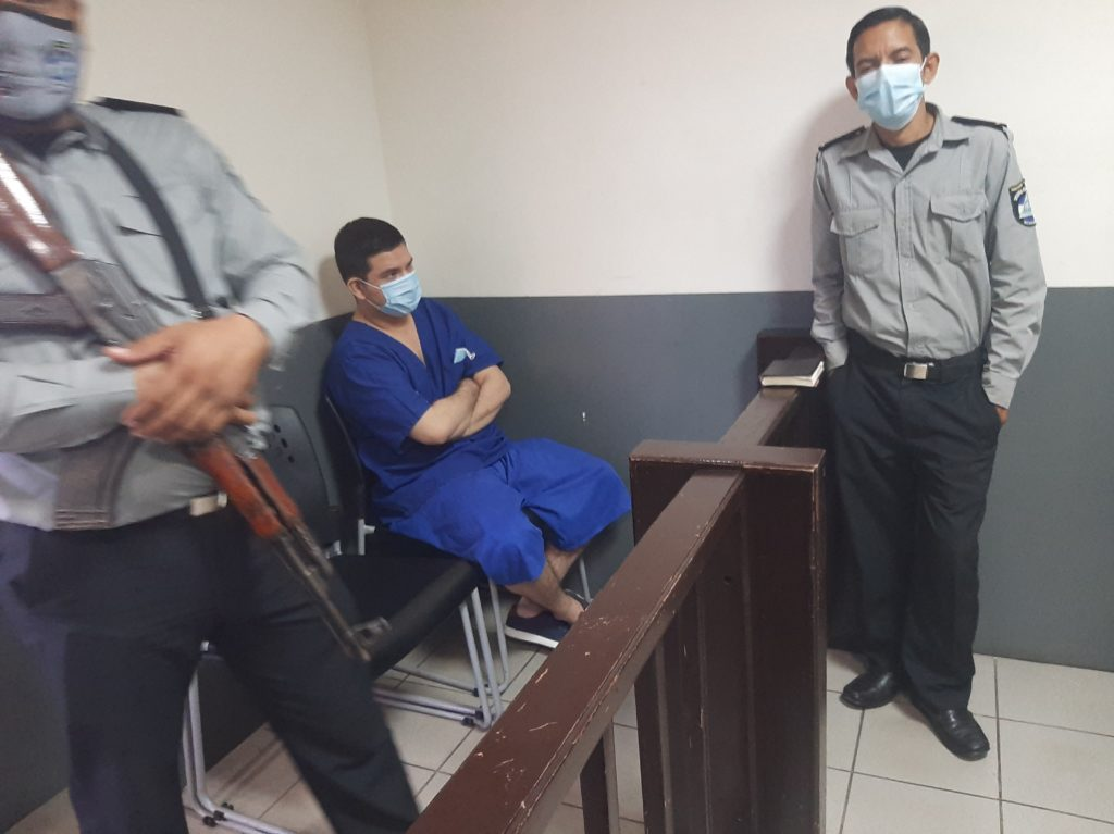 Christian Duarte Martínez también fue declarado culpable por cuatro delitos. Ernesto García/LA PRENSA