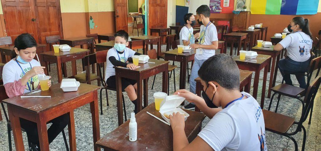 La Olimpiada Nacional de Robótica se realiza en Nicaragua desde el año 2017 como parte de la iniciativa de Comtech de impulsar la robótica educativa en el país. LA PRENSA/Cortesía