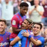 Ansu Fati le devuelve la sonrisa al Barcelona, que golea al Levante