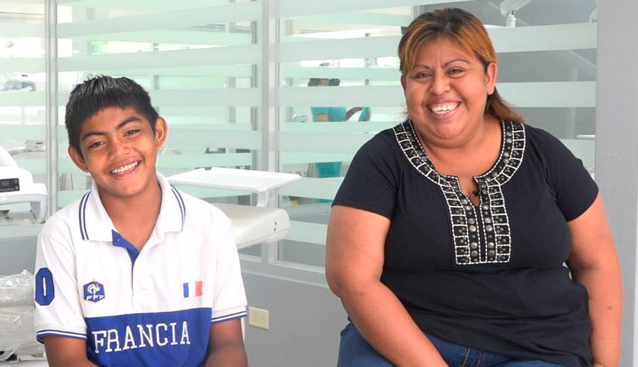 Odontología UAM regala sonrisa a José