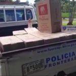 Nuevo decomiso de cigarrillos contrabandeados desde Panamá a Nicaragua; cargamento valorado en más de 16 mil dólares