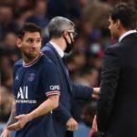 El enfado de Messi al ser sustituido en su primer partido en el Parque de los Príncipes