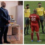 El vicepresidente de Surinam juega a los 60 años un partido oficial internacional