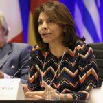 Expresidenta Laura Chinchilla advierte ante el Congreso de EE.UU: «La democracia en Nicaragua está muriendo»