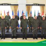 Jefe del Ejército, Julio César Avilés, participó en reunión con agregados de defensa y jefes de misiones acreditados en Nicaragua