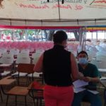 Puestos de vacunación contra el covid en Managua con menos afluencia de personas