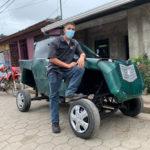 """Un carro """"made in Nicaragua"""" que circula por Jinotega"""