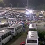 Ortega entrega 250 buses rusos a 22 cooperativas de transporte de Managua