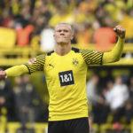 Haaland anota dos goles y el Dortmund se instala provisionalmente como líder