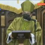 """La iglesia no busca sentarse a la derecha o a la izquierda del poderoso"", afirma Monseñor Rolando Álvarez"