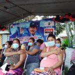 Vacunación anticovid a embarazadas inicia ordenada pero marcada por la campaña política del régimen