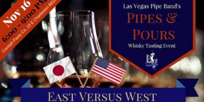 Pipes & Pours 2019, East Versus West!