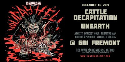 Holiday Hell Fest - Cattle Decapitation, Unearth, Atheist