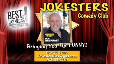 Jokesters Comedy Club - The Only Full Time, Late Night Comedy Club In Downtown Las Vegas