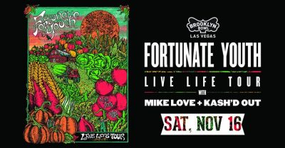 Fortunate Youth: Live Life Tour at Brooklyn Bowl Las Vegas