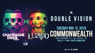 NFBN w/ Champagne Drip & Luzcid: Double Vision Tour (Wakaan)