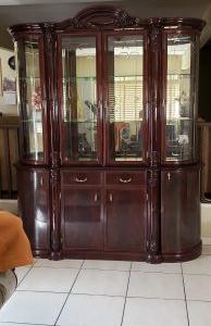 Italian made display cabinet