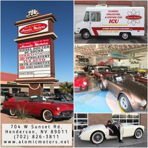 Atomic Motors Classic Cars & Motorcycles