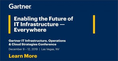 Gartner It Infrastructure Conference